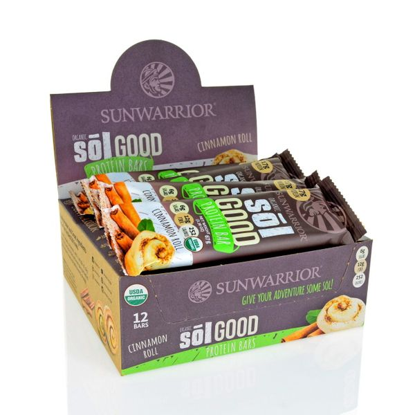 protein sol good vegan protein bars 12 x 67g. Black Bedroom Furniture Sets. Home Design Ideas