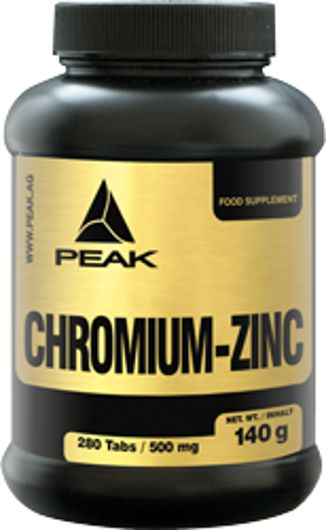 protein 2x peak chromium zink. Black Bedroom Furniture Sets. Home Design Ideas