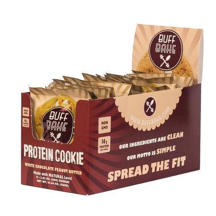 Protein Cookie 12 X 80g Buff Bake